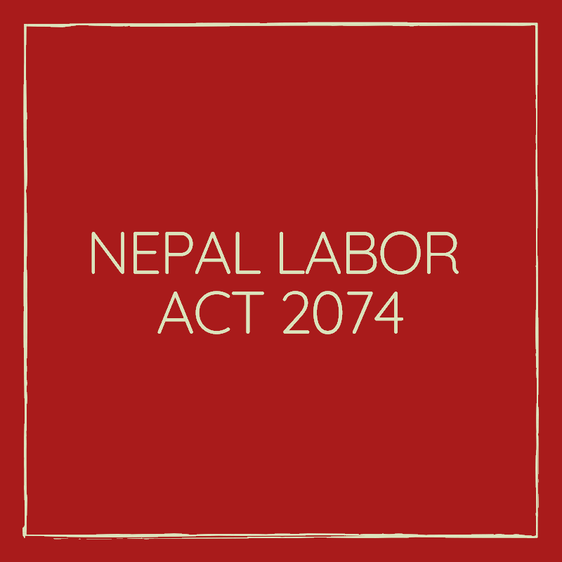 Nepal Labour Act 2074
